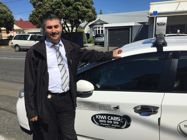 Kiwi Cabs general manager Muneer Oraha came to New Zealand as a young man in his 20s.
